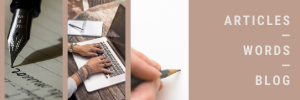 Articles Words Blog (resource)