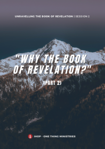 Unravelling Revelation Session 2 Cover